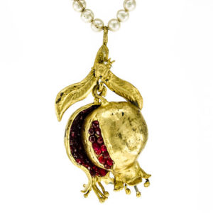 Good Fortune Pomegranate Locket