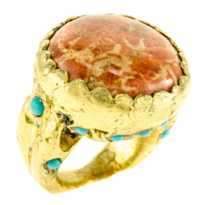 Kismet Coral Ring