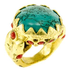 Kismet Turquoise Ring