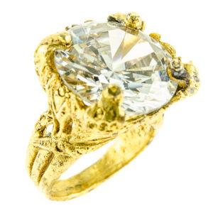 Crystal Blossom Ring